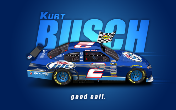 Kurt Busch wallpaper by Veeyo