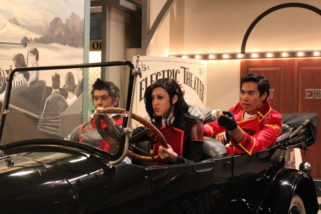 LoK: Drive Like A Girl by chinasaur