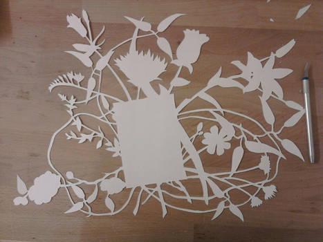 Engagement papercraft