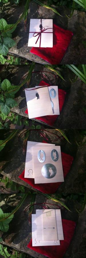 Rob Brooch + earrings