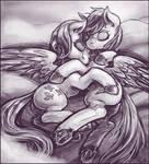 Flutterdash Cuddles