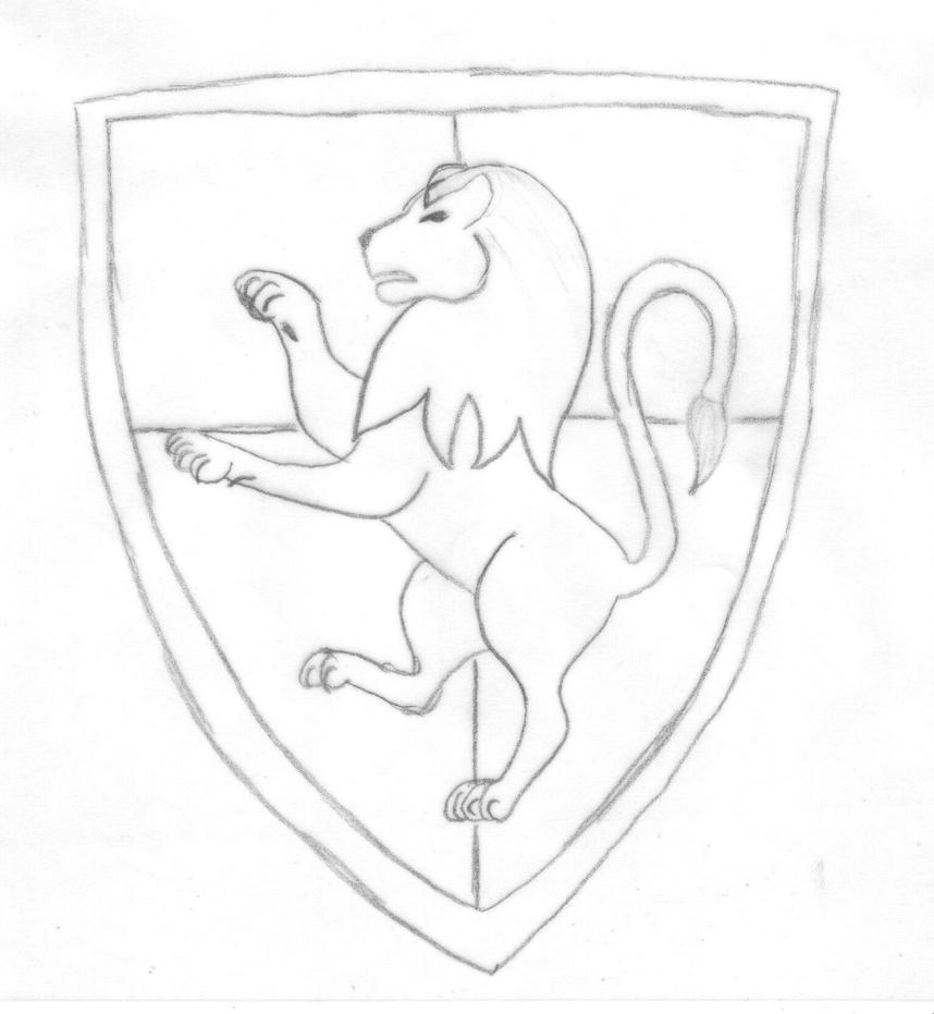 Gryffindor Crest WIP by Spitfire-Thorns on DeviantArt