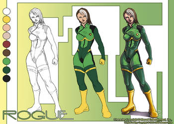 Rogue Character Sheet by chibi-j