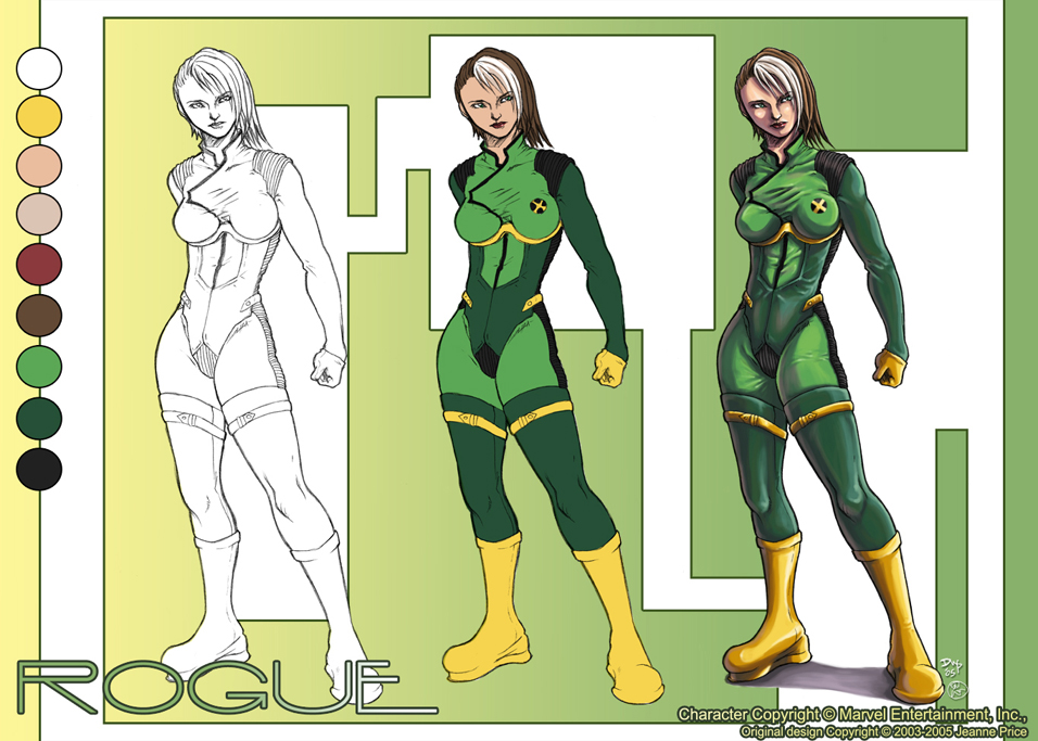 Rogue Character Sheet by chibi-j on DeviantArt