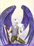Angel with a shotgun by Roseprincess1