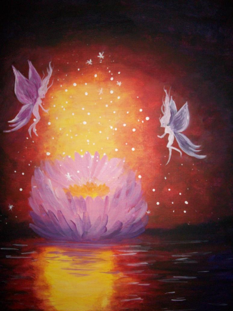 Lotus Fairies by Roseprincess1