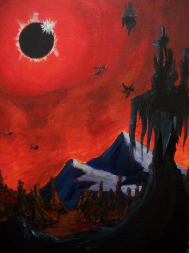 Dark tower by Roseprincess1