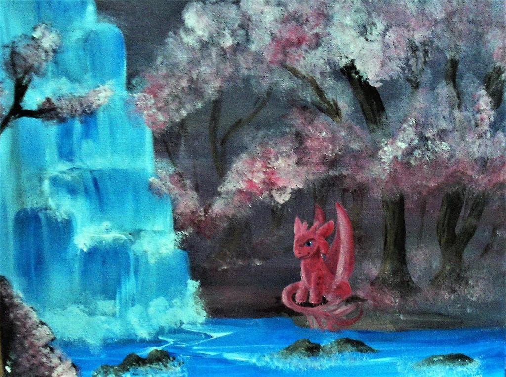 more pink nightfury by Roseprincess1