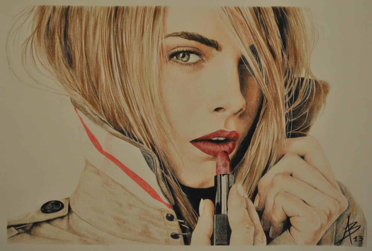 Cara Delevingne by AlbertoB on DeviantArt