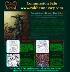 Commissions Return!
