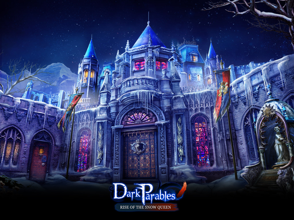 Wallpaper Dark Parables -Rise of the Snow Queen by LunaNegra1949