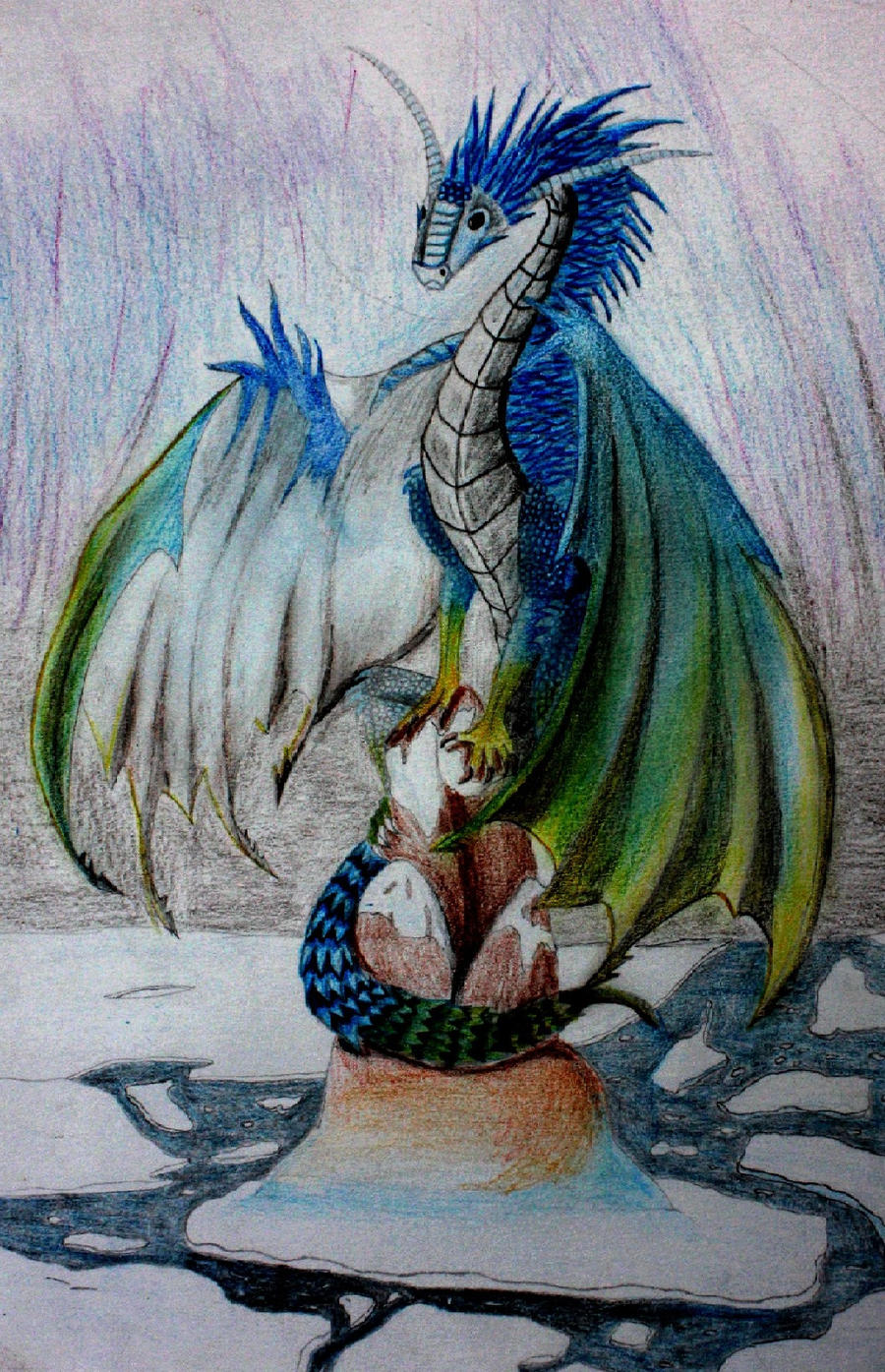 Dragon des Glaces by Cassyblue