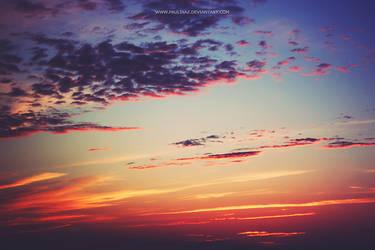 evening sun by Paulinaz