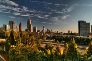 Atlanta Day Skyline HDR1 by fusk4