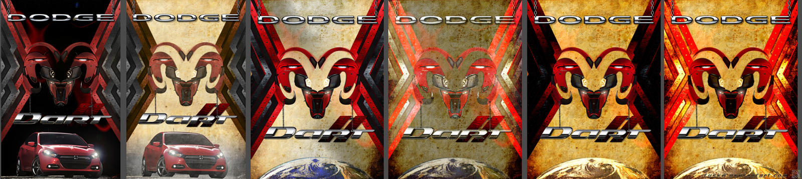 Dodge ram by fusk4