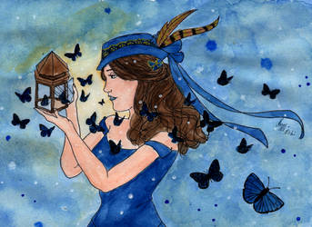Dream of a Butterflies Flight by Maggy-mitchi
