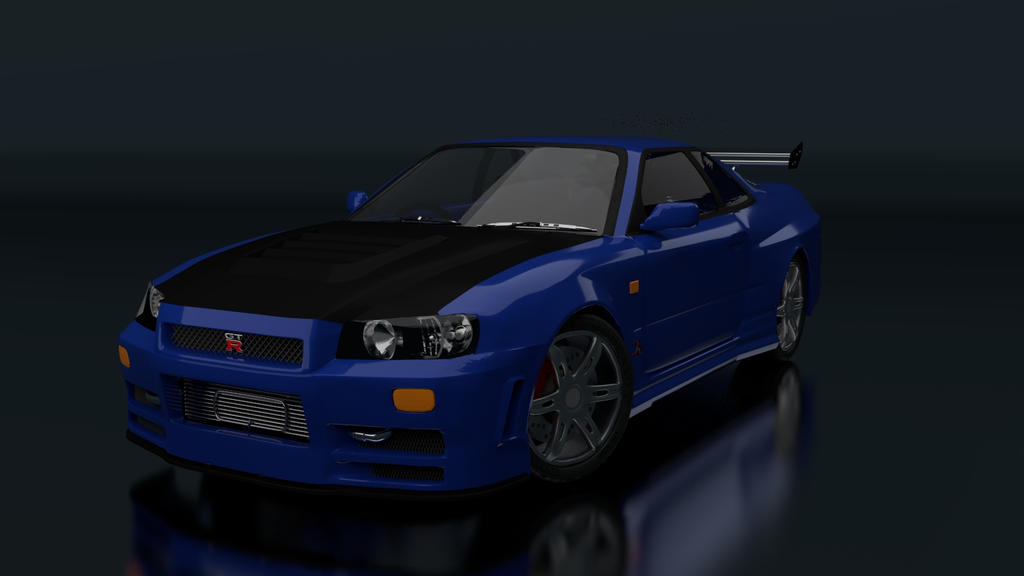 Skyline GT-R by BlazingEclipse8