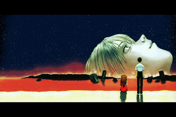 The End of Evangelion by akira-kawaii-kire