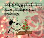 snoopy piano