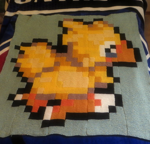 Chocobo Baby Blanket by DarkLyghtning