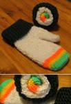 Sushi Mittens