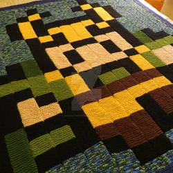 Loki Blanket (knitted)
