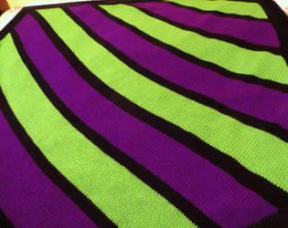 Joker Striped Blanket
