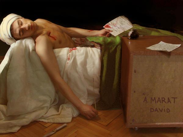 The Death of Marat by PinhanKara on DeviantArt