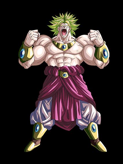 the roar of death legendary super saiyan broly by
