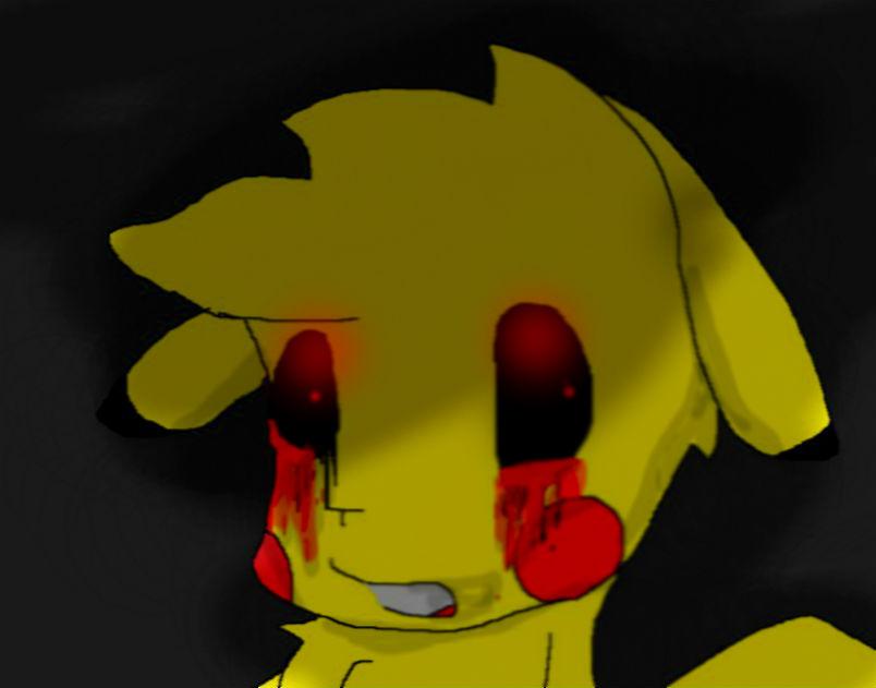 Pikachu crying drawing - photo#14