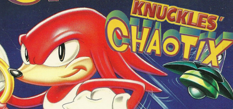 Steam Grid View Image: Knuckles' Chaotix by theguywhoishere