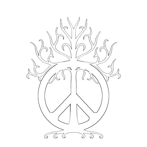 Peace Sign Tattoo Designs Drawings
