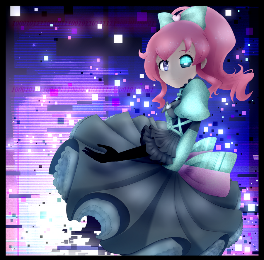 Kiratto Pri Chan: Mirai Glitch (ver. 2) by SimsValeria
