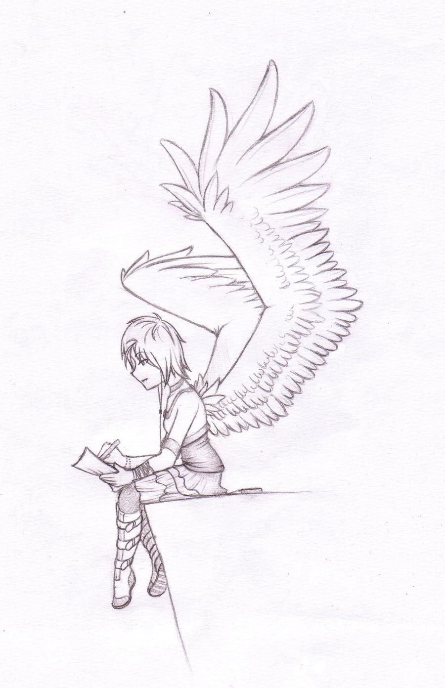 sketch writing