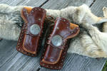 Western Mexican Double Holster Set