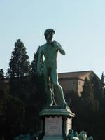 La statua di David by wolfprime