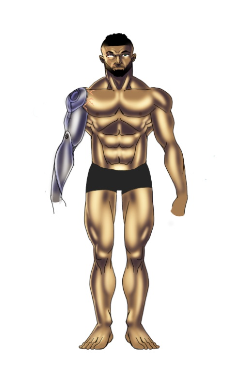 Whipping Adam into shape for Omega Man by wolfprime