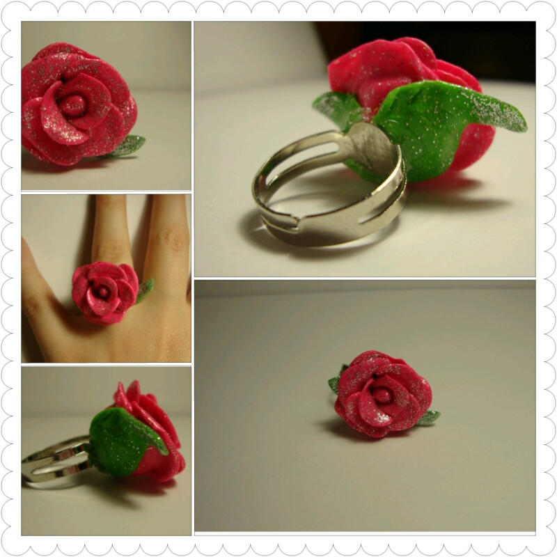Real Rose From Beauty And The Beast Beauty And The Beast Rose Ring
