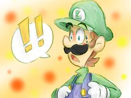!! Luigi by Kirafrog