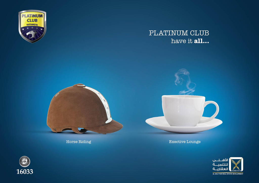 Platinum Club ad