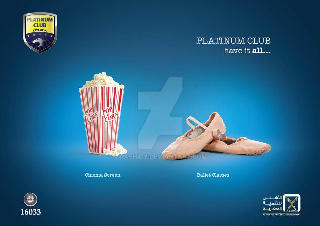 Platinum Club ad