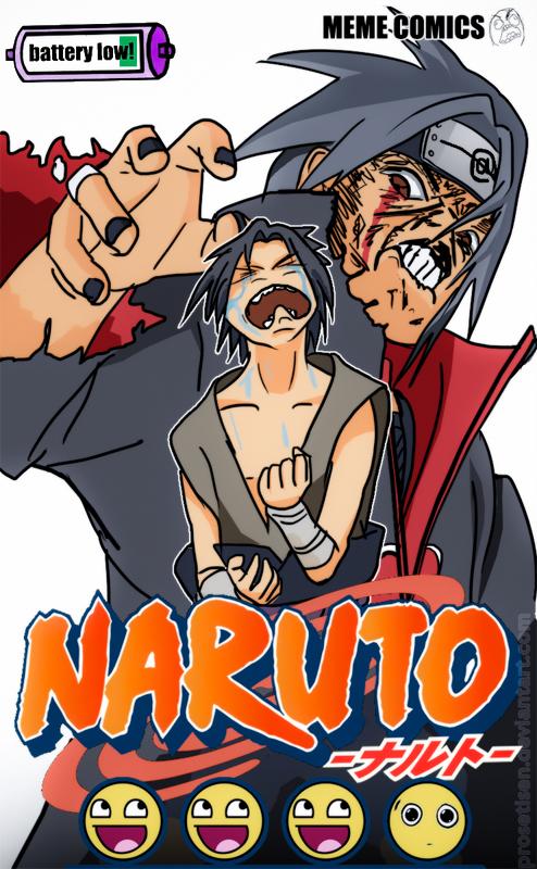 Naruto manga cover parody by proSetisen