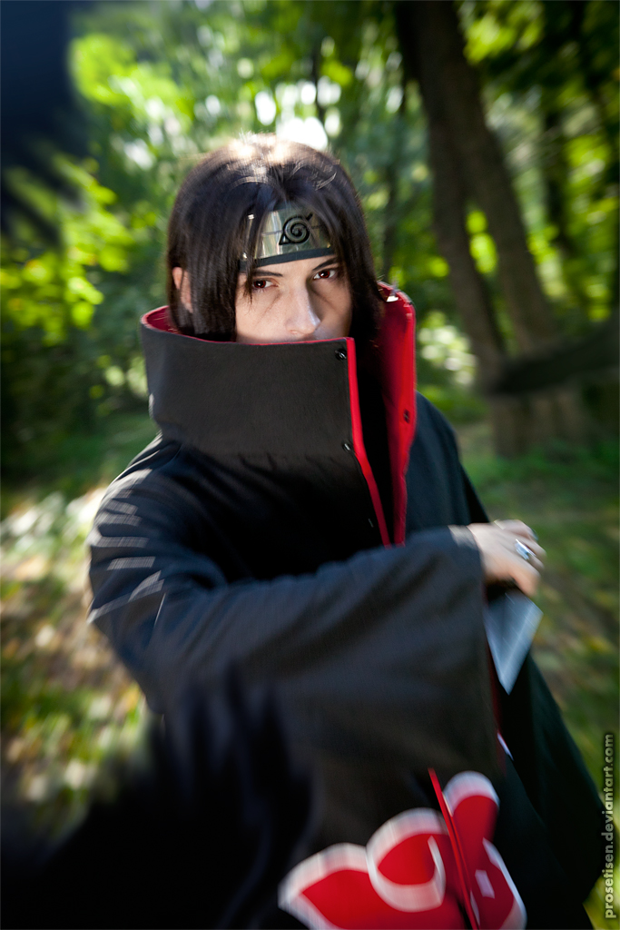 Itachi Uchiha Cosplay Move by proSetisen