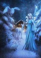 Winter spirit by AureaHora