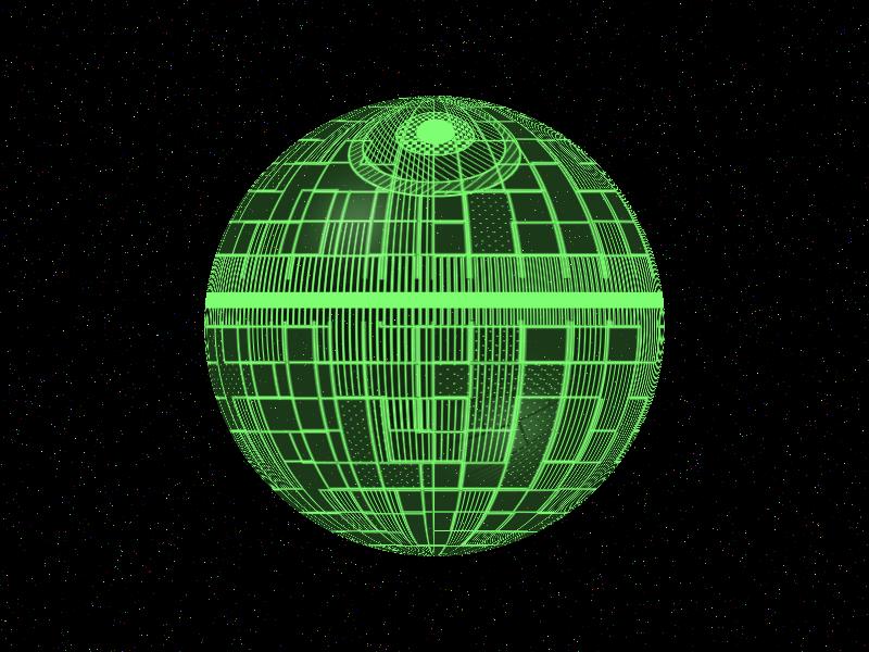 Basic Death Star Hologram by David-c2011 on DeviantArt
