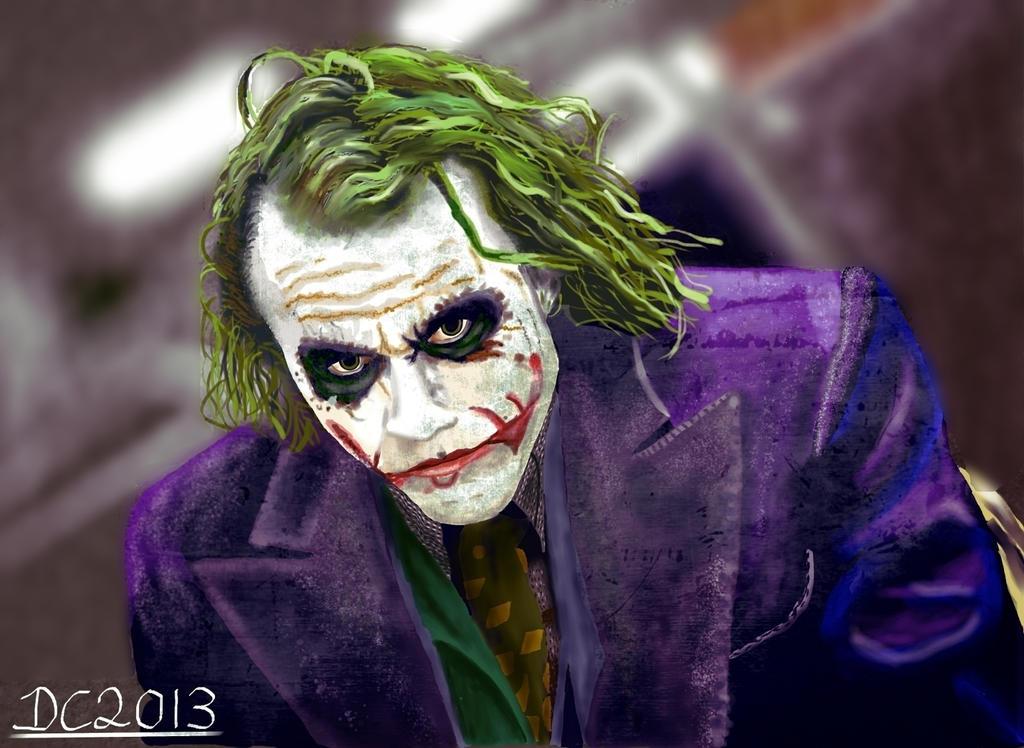 The Joker by David-c2011