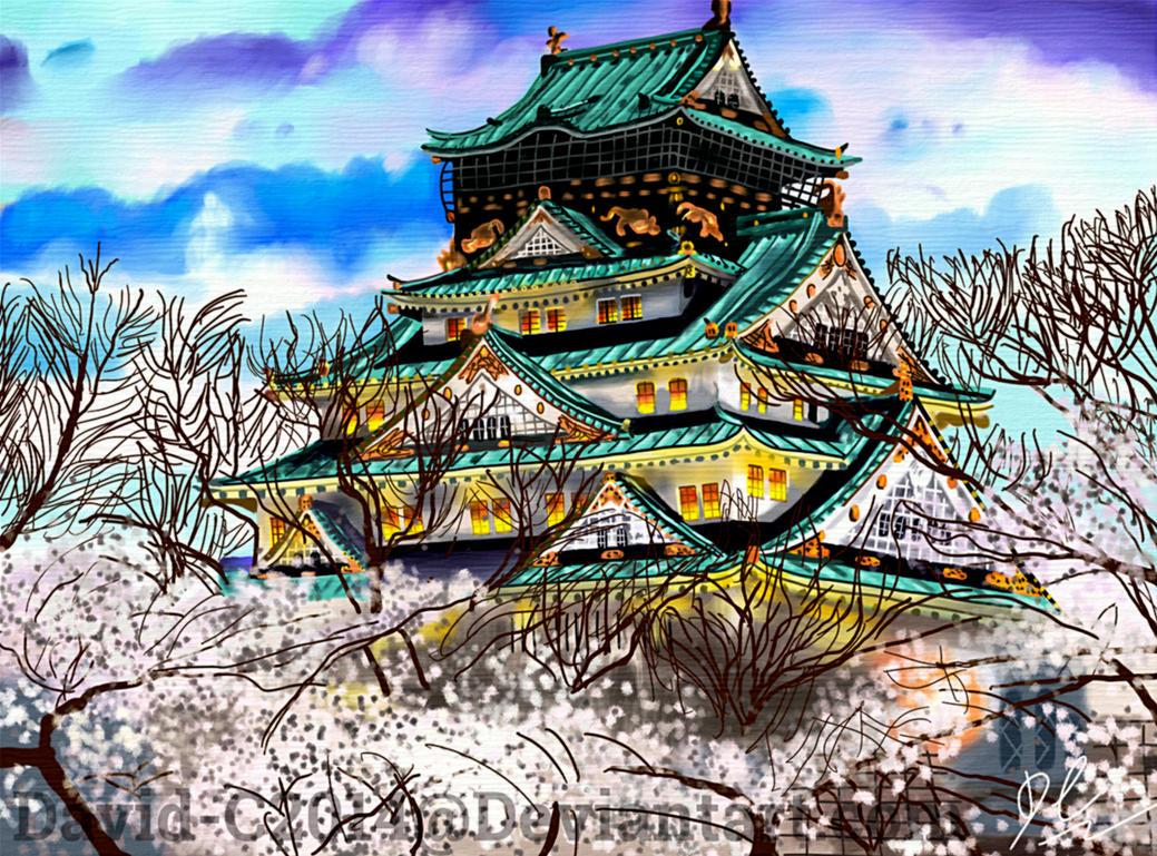 Osaka Castle by David-c2011