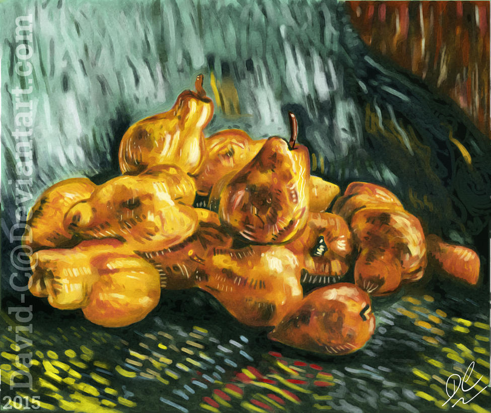 Van Gogh Pears by David-c2011