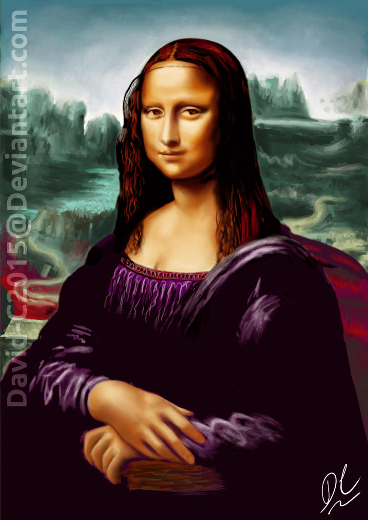 Mona Lisa by David-c2011