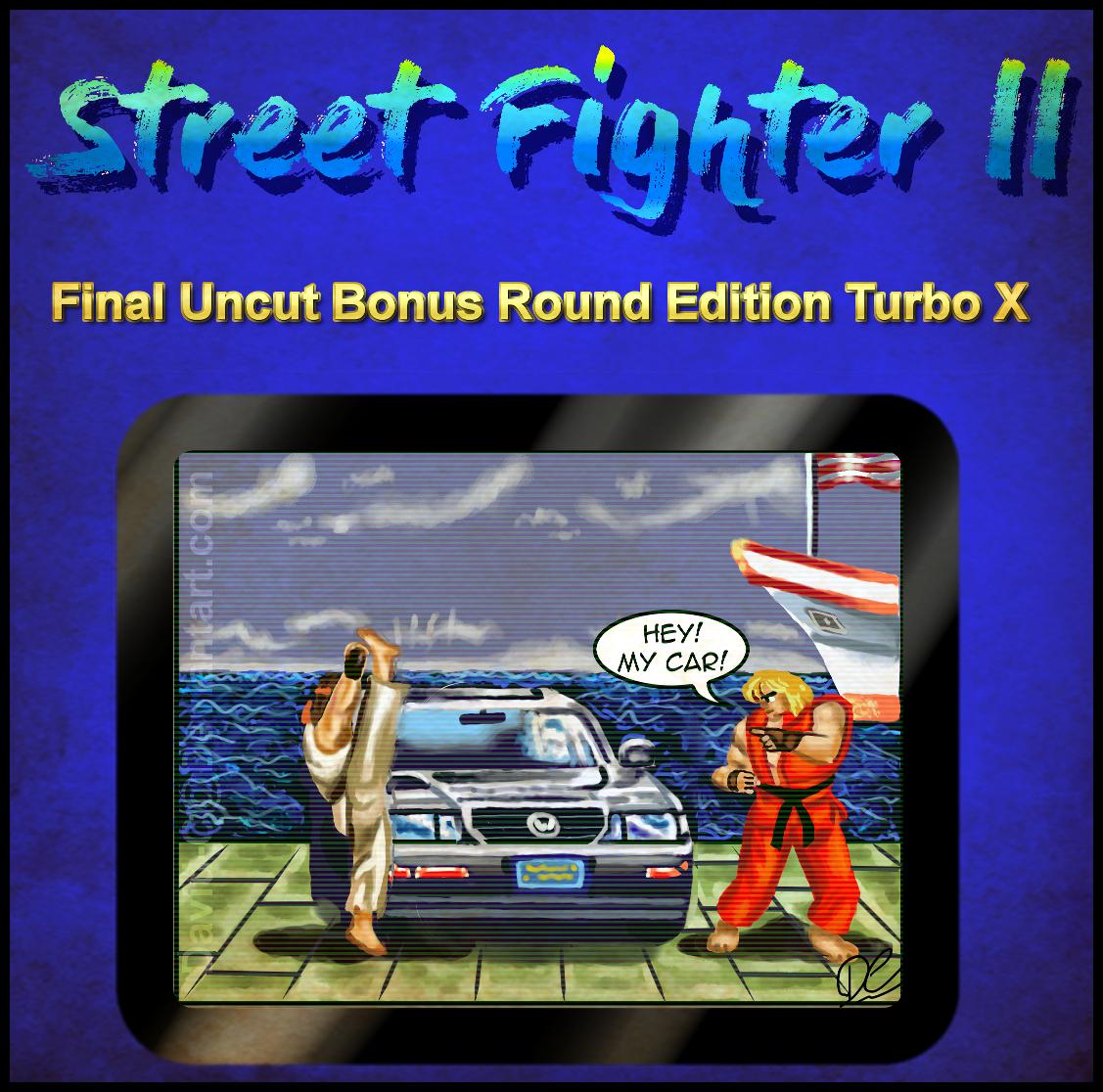 street fighter 2 final uncut bonus round edition by david c2011 on deviantart. Black Bedroom Furniture Sets. Home Design Ideas